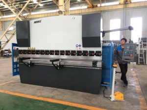 125ton sheet bending machine alang sa stainless steel forming