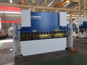 300 Ton hydraulic nc press brake machine 5M nga CE certification sa kaluwasan