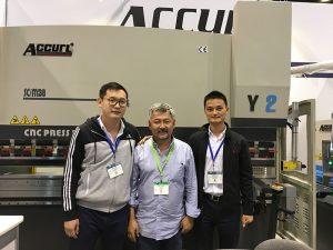 Ang Accurl miapil sa Chicago machine tool ug Industrial Automation Exhibition sa 2016