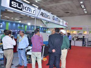 Ang Accurl miapil sa India Exhibition sa 2016