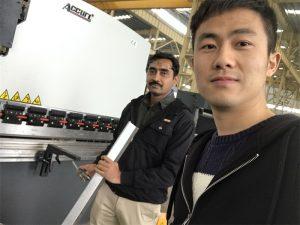 Algeria Client Testing Mopadayon sa Brake Machine sa Among pabrika