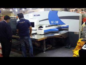 Mataas nga kalidad nga servo cnc hydraulic turret punch press machinery