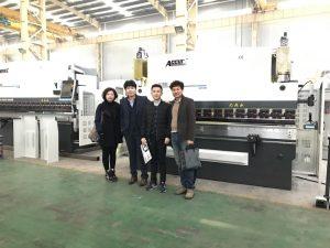 Ang mga Kostumer sa Korea Nagduaw sa Among pabrika