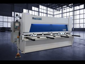 Master hydraulic guillotine shears MS8 3206 uban sa ELGO P40T touch screen CNC system
