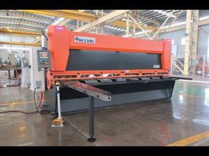 Ang indibidwal nga indibidwal nga nagkalainlain nga nagtubo sa CNC hydraulic guillotine shears MS8-10x4000mm