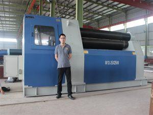 Mga Kustomer sa Thailand Nakapalit sa W12 Rolling Machine gikan sa Accurl Company