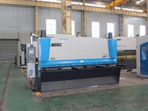 QC11y-8 * 3200 hydraulic shearing machine nga ibaligya nga may kontrol sa cnc
