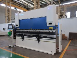 durable welding tools 80T / 3200mm air high temperature heat press press preno uban ang DA66T controly system