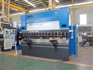 WC67Y 40t / 2000 electric sheet metal pagpugong sa dako nga press brake machine