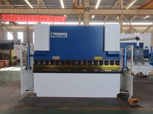 hign speed steel bending NC press brake machine nga adunay estun e21 NC control