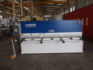 cnc e21S QC12Y-6 × 3200 hydraulic shearing machine