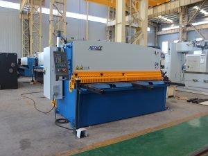gamay nga shearing machine, QC12y- 4X2500 hydraulic metal plate shearing machine