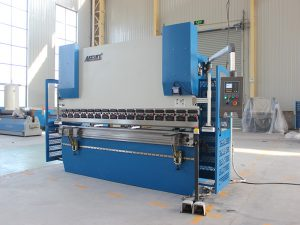 Wc67K 100t siemens motor servo bending machine sheet metal CNC hydraulic press brake nga adunay da41 controller